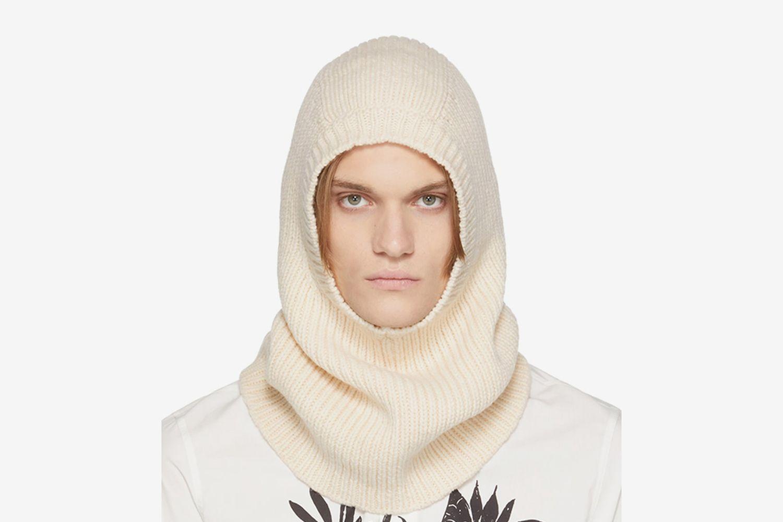 Rib Knit Hood