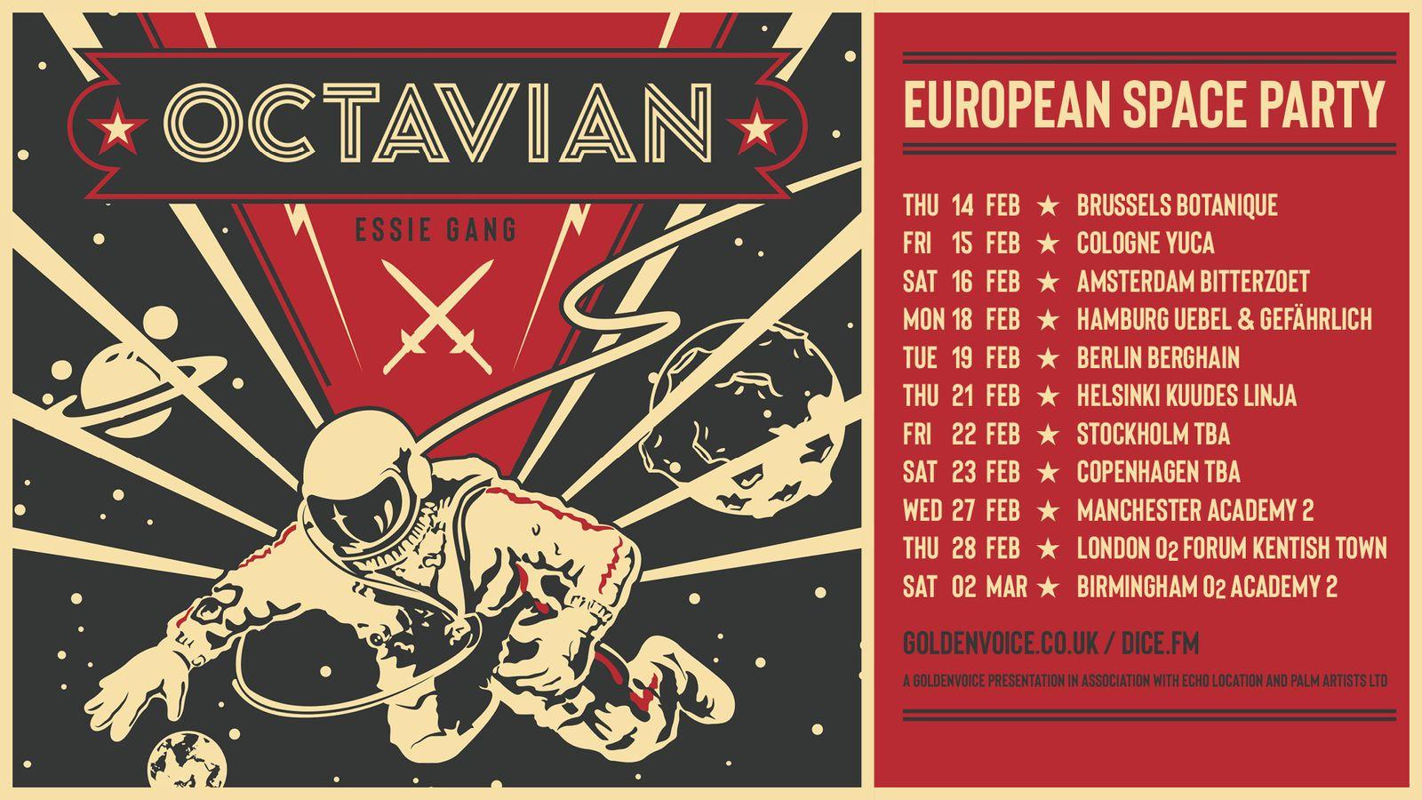 octavian europe tour