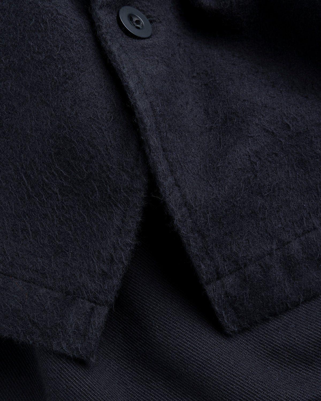 Our Legacy – Evening Coach Jacket Black Brushed - Image 6