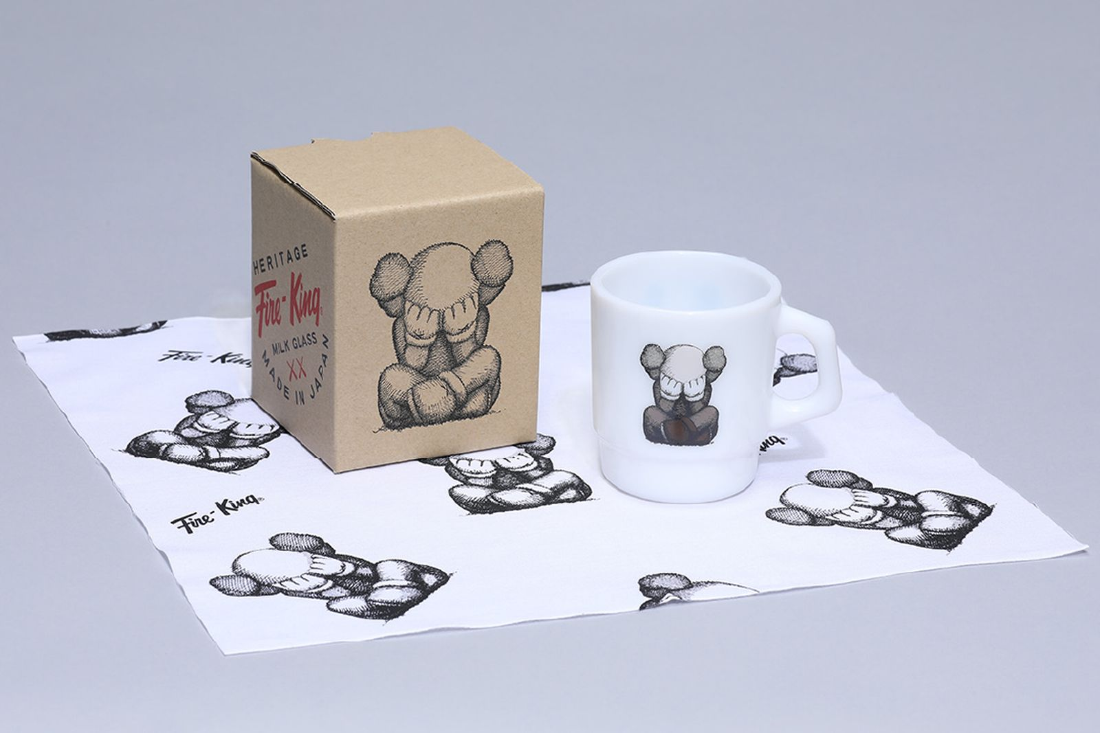 kaws tokyo first fire king mup cup bowl companion buy price