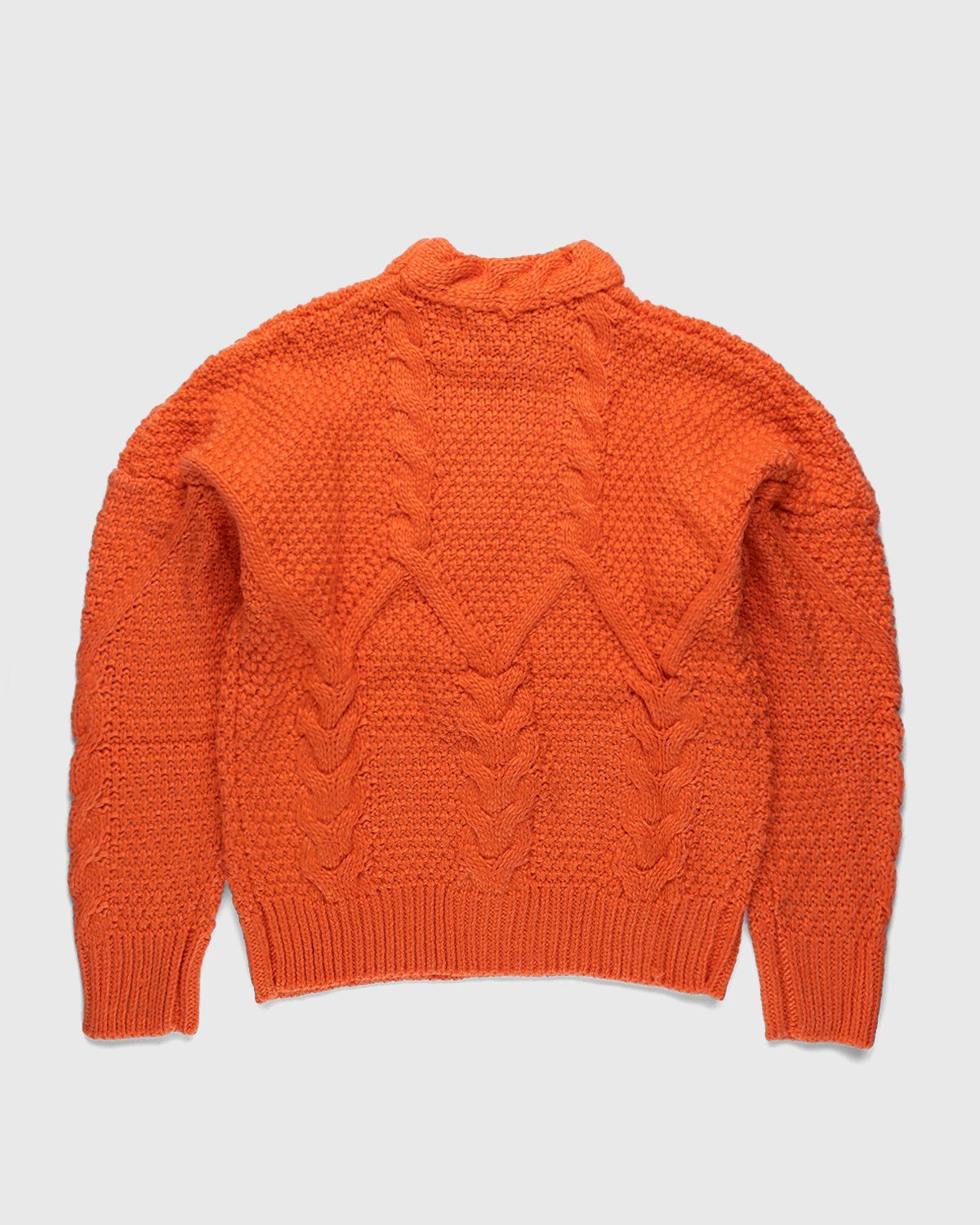 Winnie New York - Intwined Cable Knit Sweater Red - Image 2