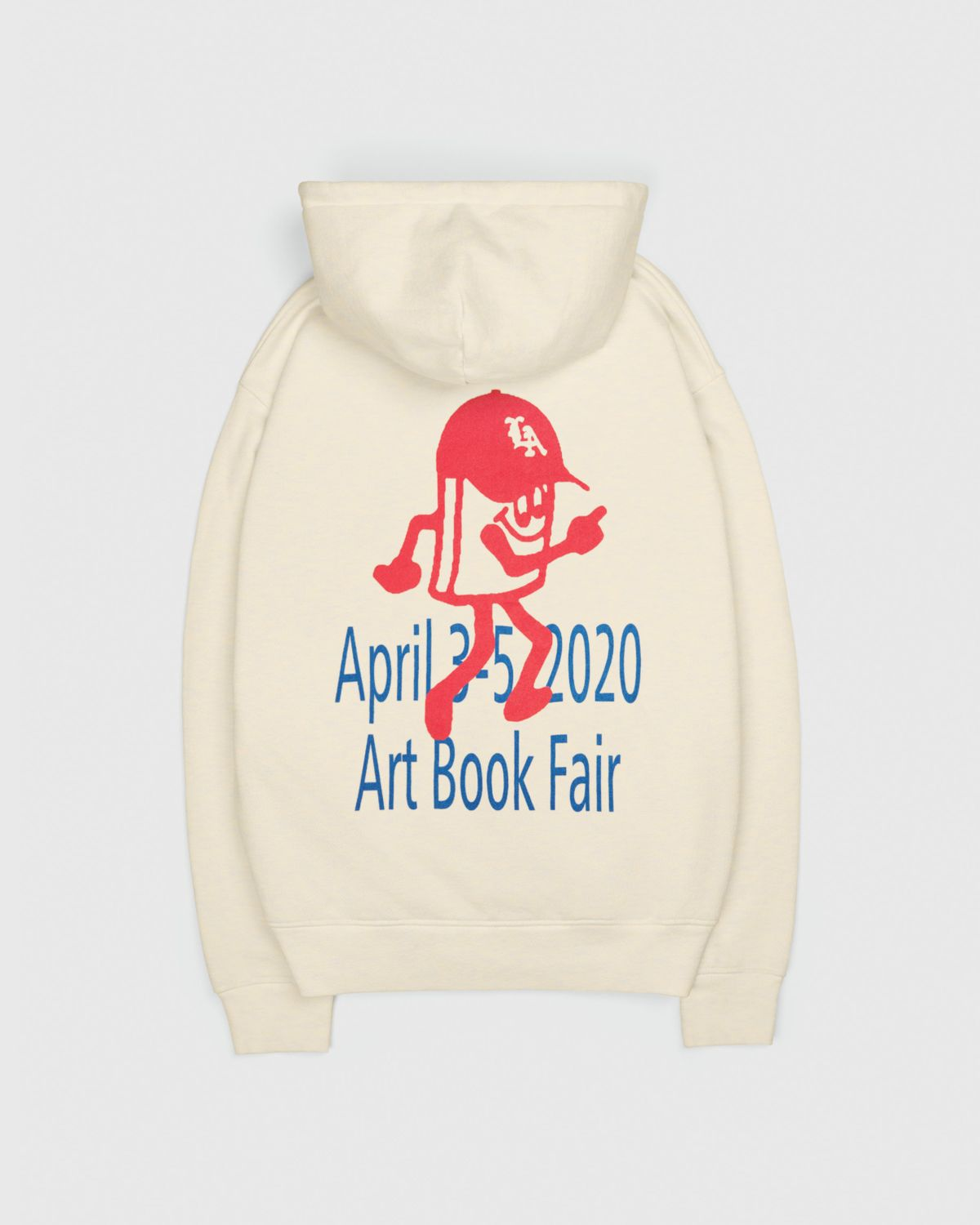This Never Happened - Art Book Fair Hoodie Eggshell - Image 1