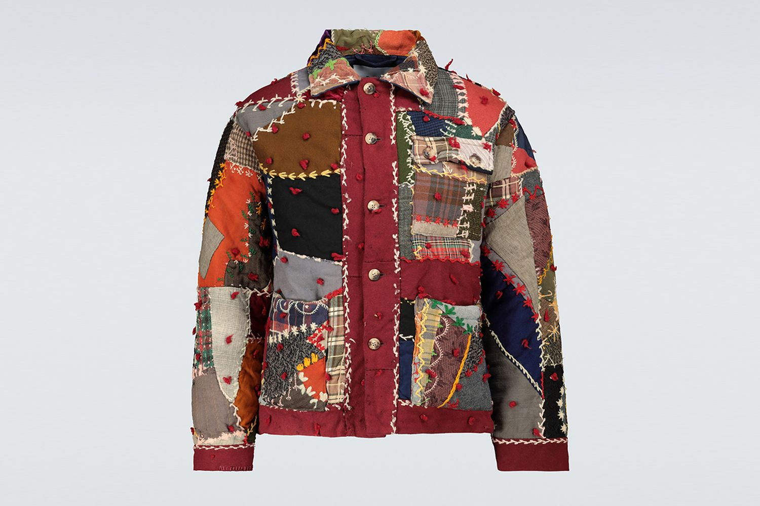 One of a Kind Crazy-Quilt Jacket