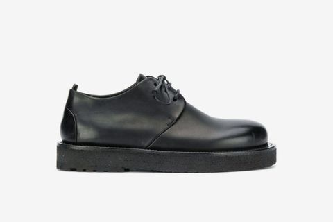 Platform Sole Derby Shoes