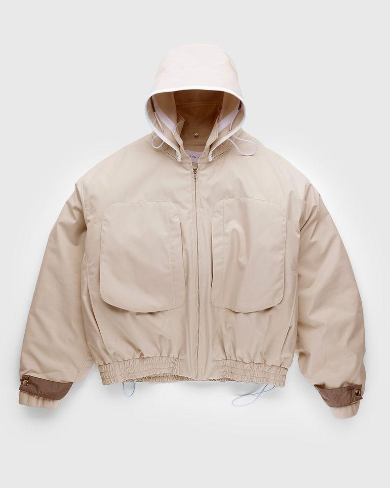 Arnar Mar Jonsson – Sympatex Patch Pocket Outerwear Jacket Beige