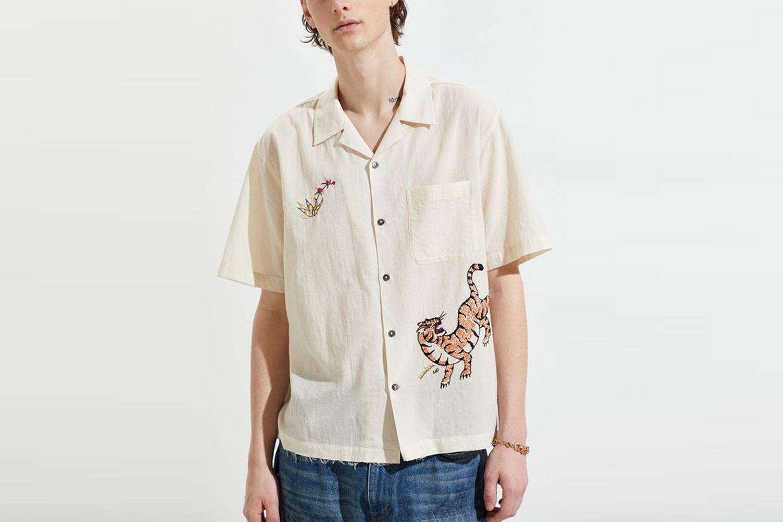 Craft Embroidered Tiger Shirt