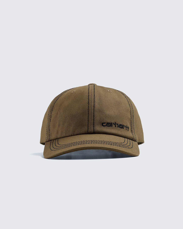 Carhartt WIP – Contrast Stitch Cap Green - Image 3
