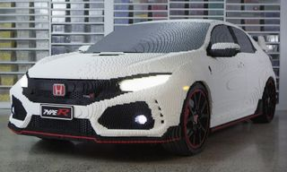Life-Size LEGO Civic Type R Was Built With 320,000 Bricks