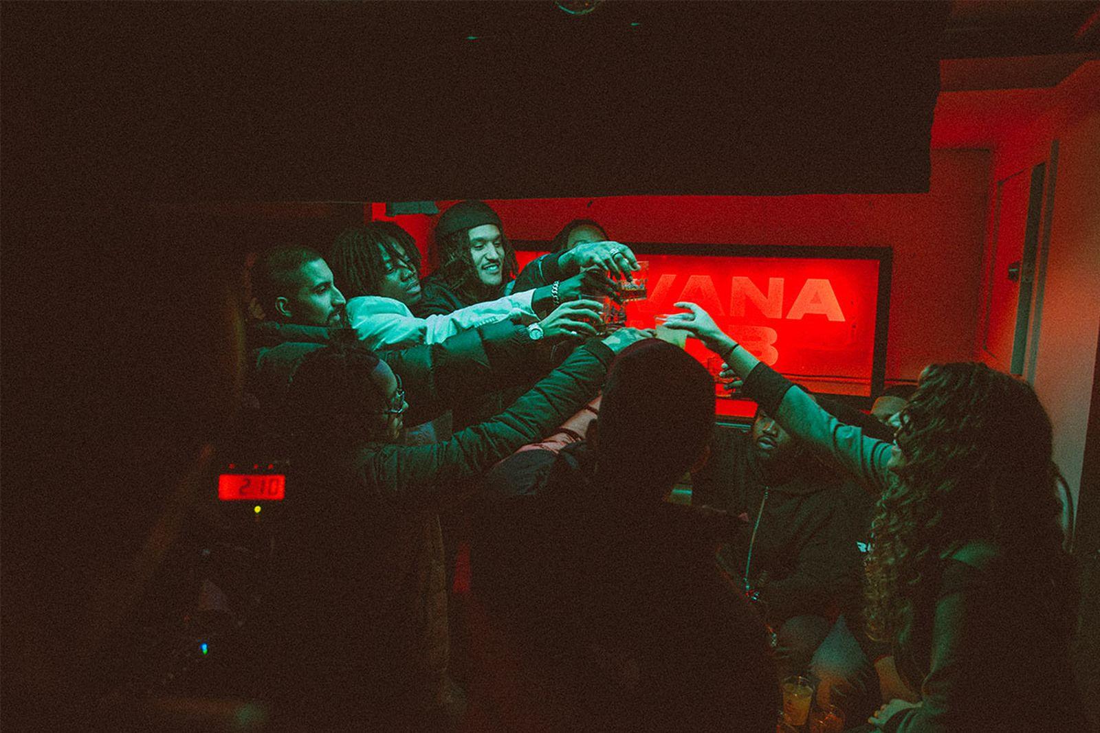 88GLAM celebrate their success with Havana Club rum.