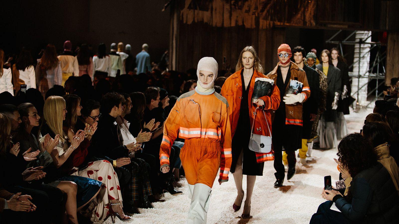 Calvin Klein Fall Winter 2018 Highsnobiety NYFW main Raf Simons fashion shows runway