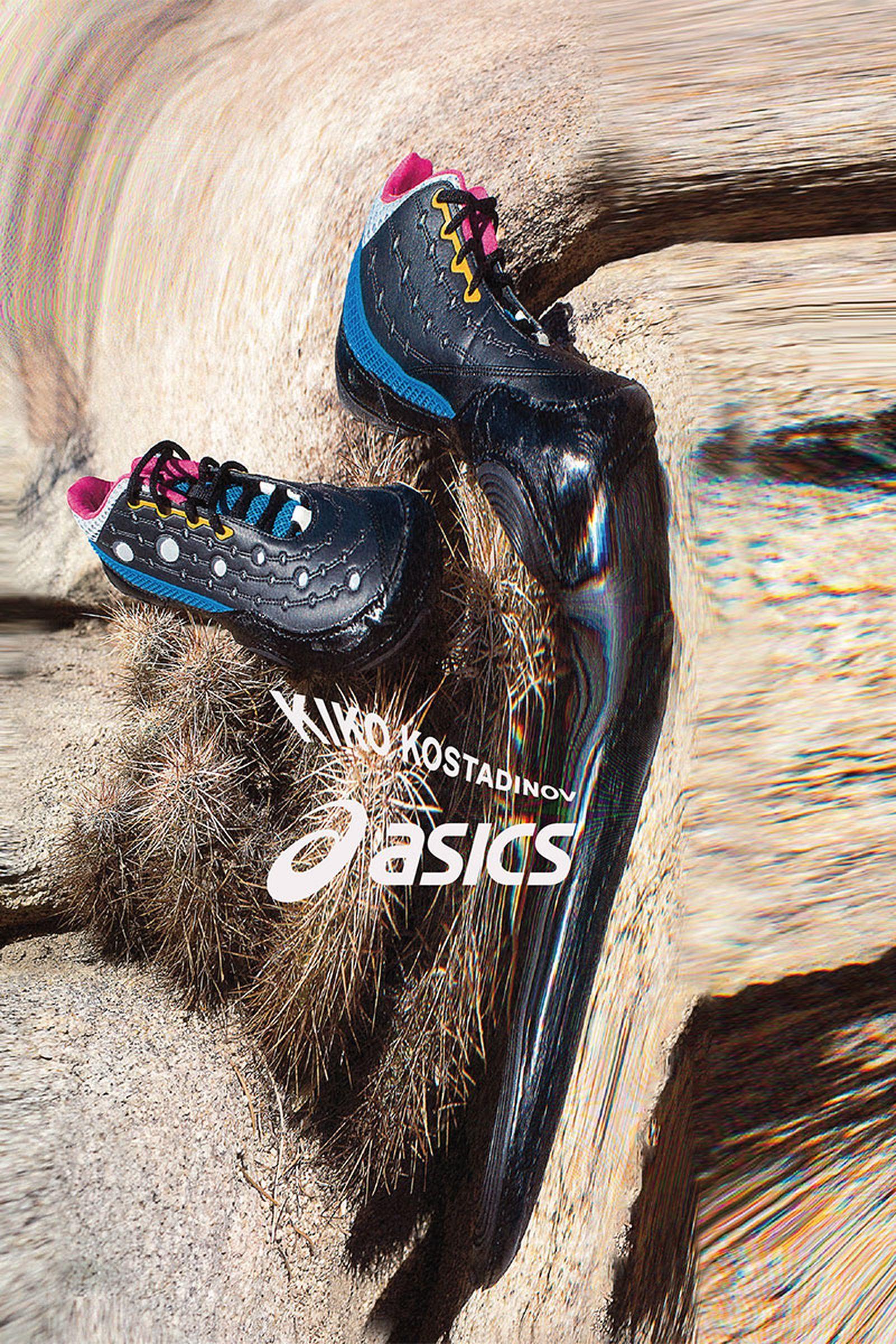 kiko kostadinov and asics gesserit 2 sneaker
