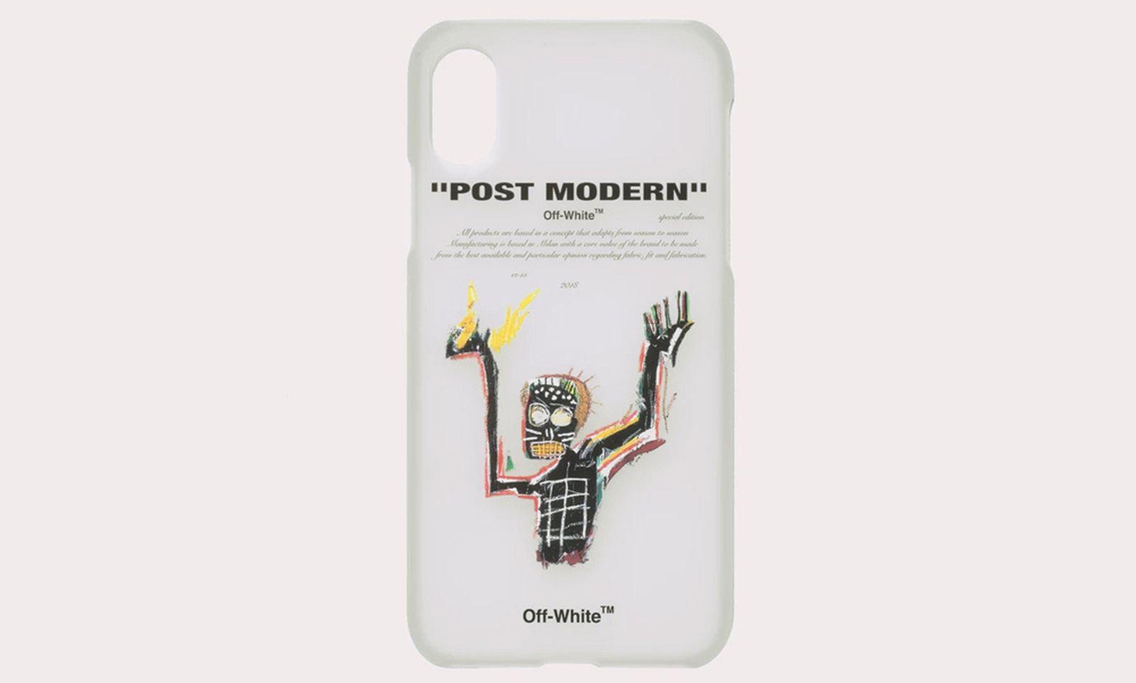 basquiat off white collab iphone case comments Air Jordan 19 Lil Pump Martine Rose
