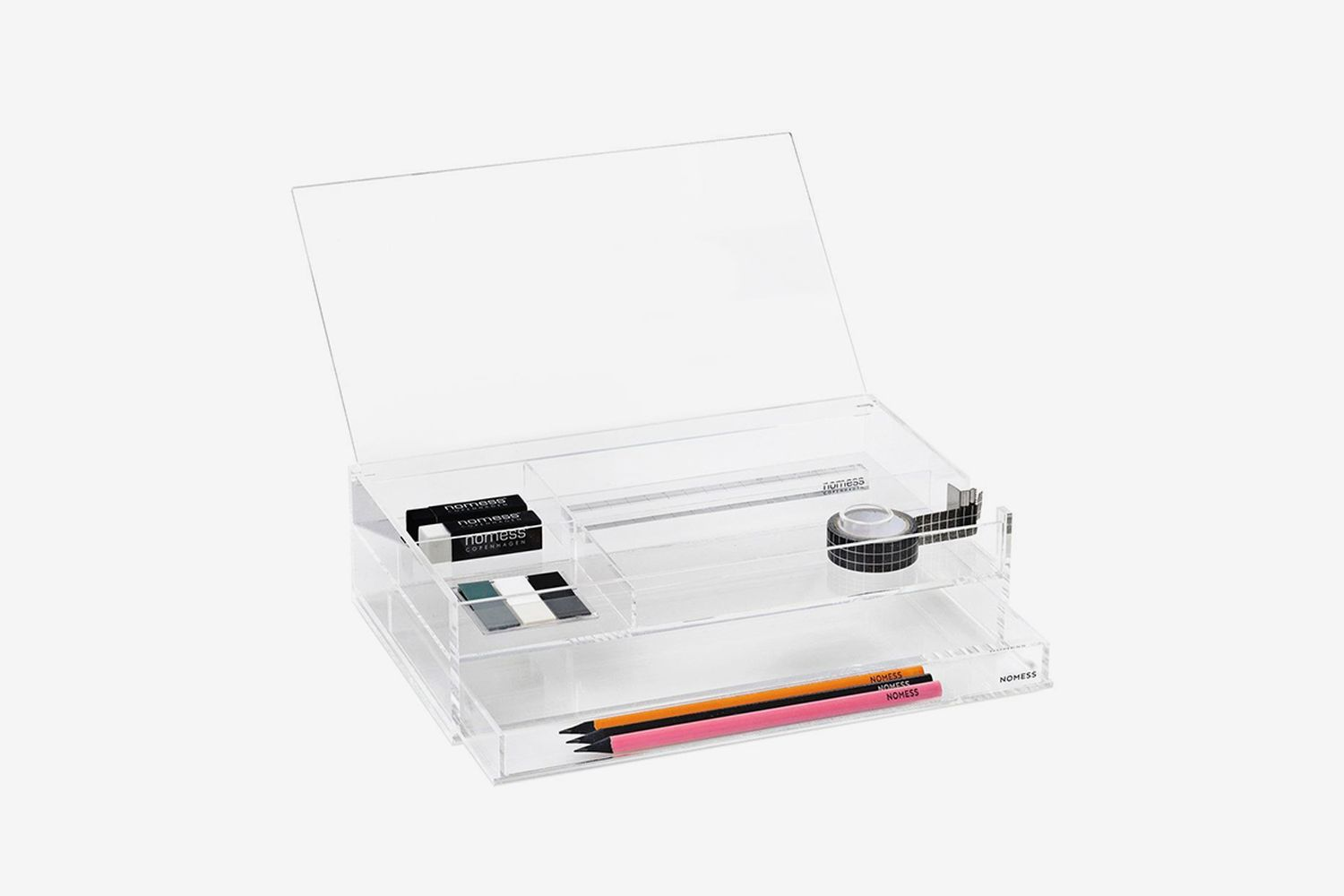 Clear Office Box With Drawer
