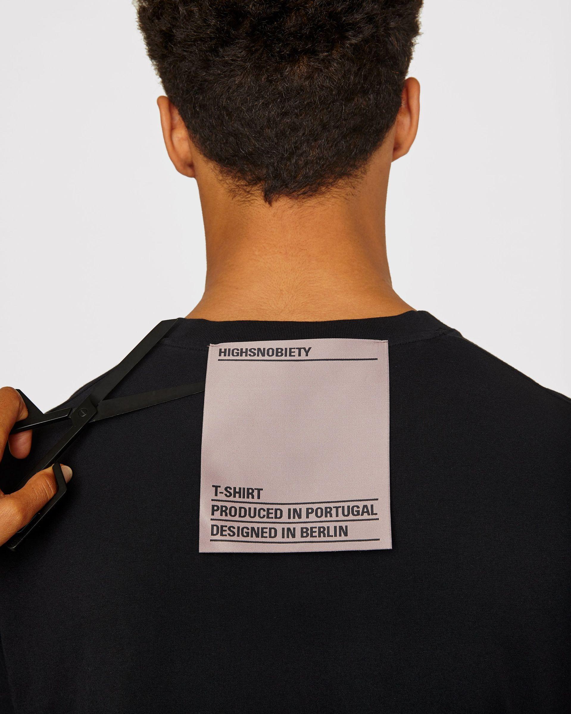 Highsnobiety Staples - T-Shirt Black - Image 4