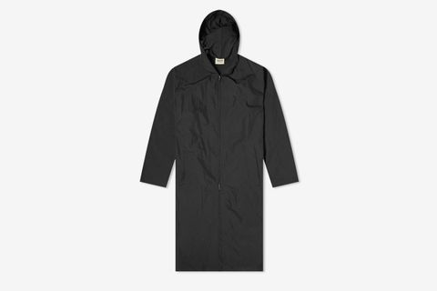 Nylon Hooded Rain Jacket