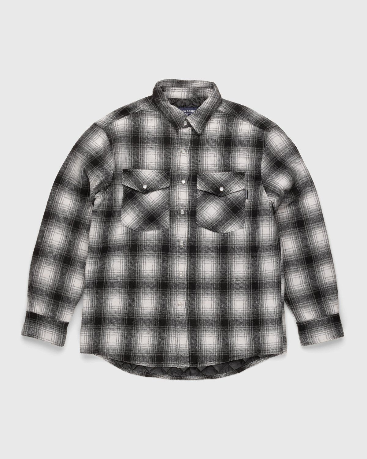 Noon Goons — Tahoe Quilted Flannel Grey - Image 1