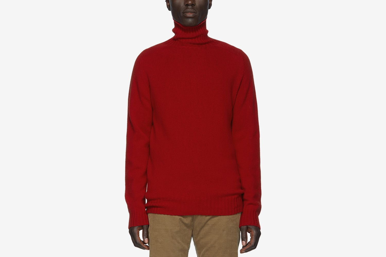 Wool Seamless Turtleneck