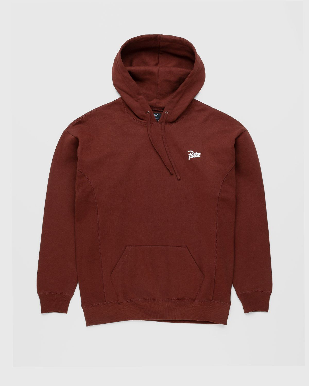 PATTA – Basic Hooded Sweater Brown - Image 1