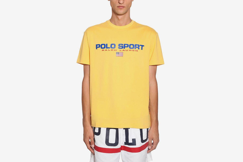 Sports Cotton T-Shirt