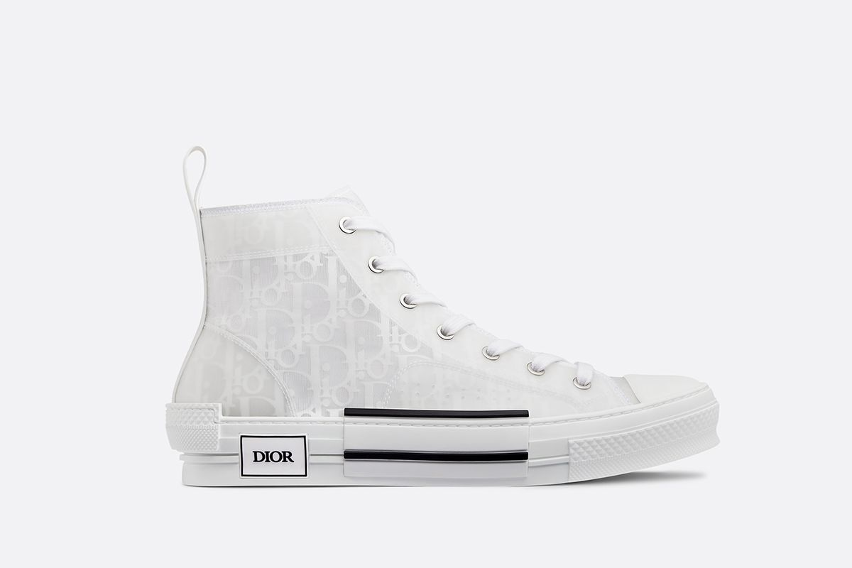 """B23"" High Top Oblique Sneaker"