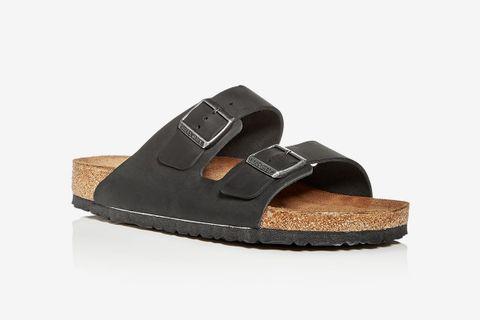 Arizona Oiled Leather Slide Sandals