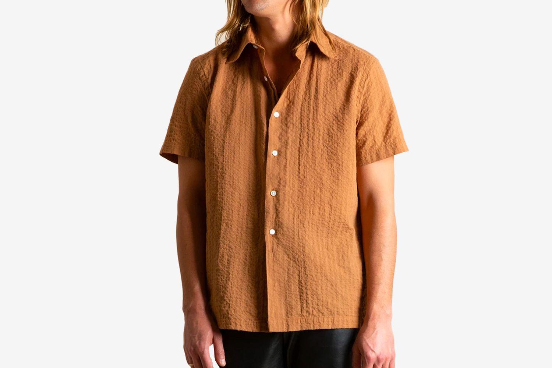 Dobby Short Sleeve Shirt