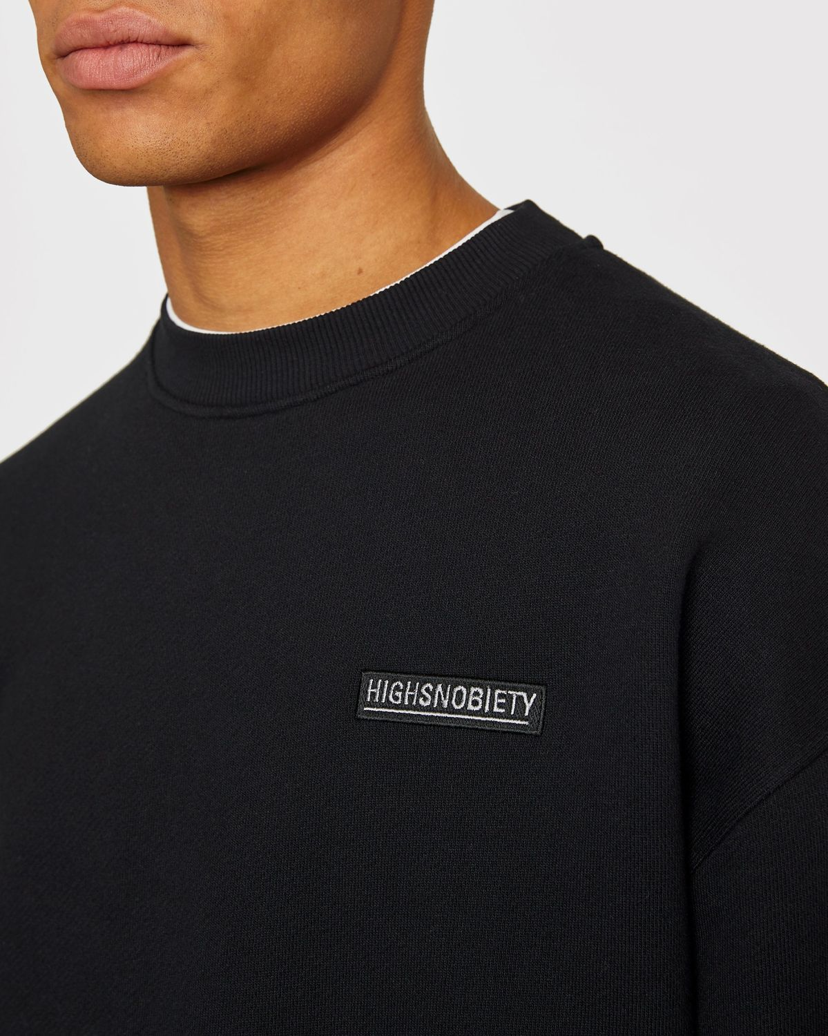 Highsnobiety Staples - Sweatshirt Black - Image 5