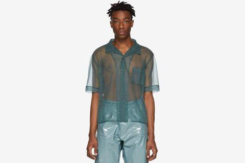 sheer blouses main GmbH Raf Simons comme des garcons homme