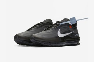 "1f2b776389 Nike. Nike. Nike. Nike. Previous Next. Brand: OFF-WHITE x Nike. Model: Air  Max 97 ""Black"" ..."