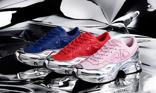 Raf Simons' Glammed-Up New adidas Ozweegos Are His Most Eye-Catching Yet