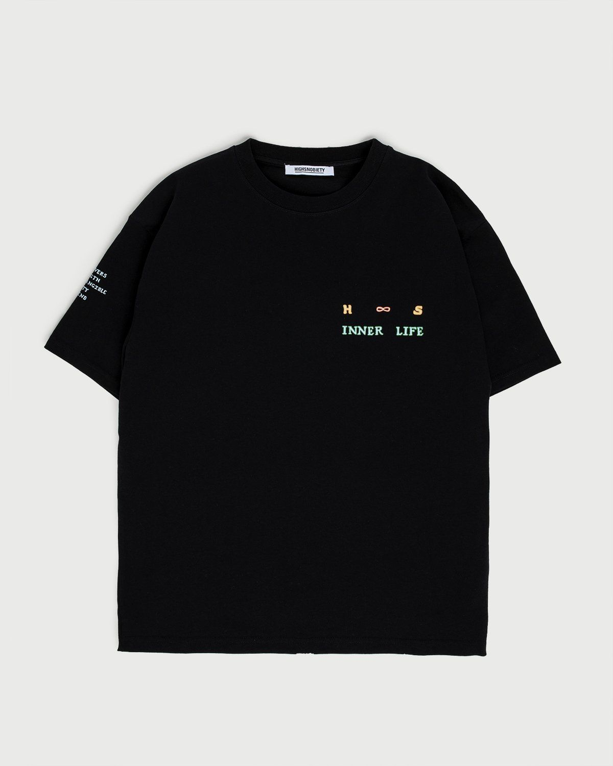Inner Life by Highsnobiety - T-Shirt Black - Image 4