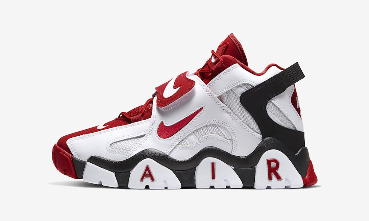 dostać nowe szybka dostawa przytulnie świeże Nike Air Barrage Mid