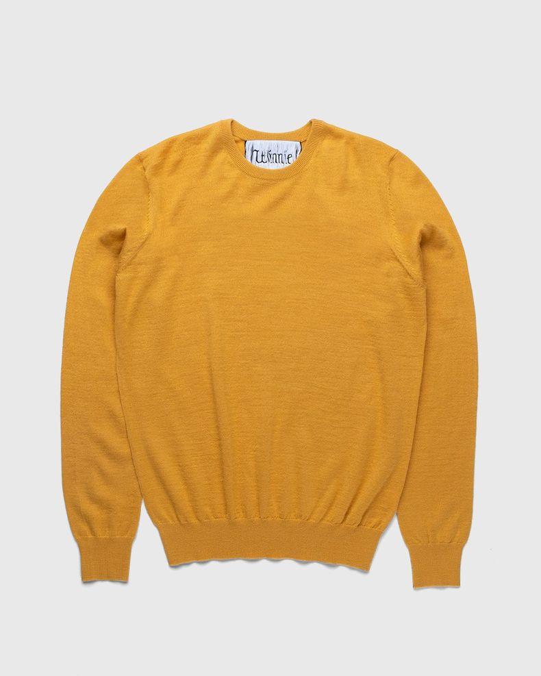 Winnie New York - Crew Sweater Mustard