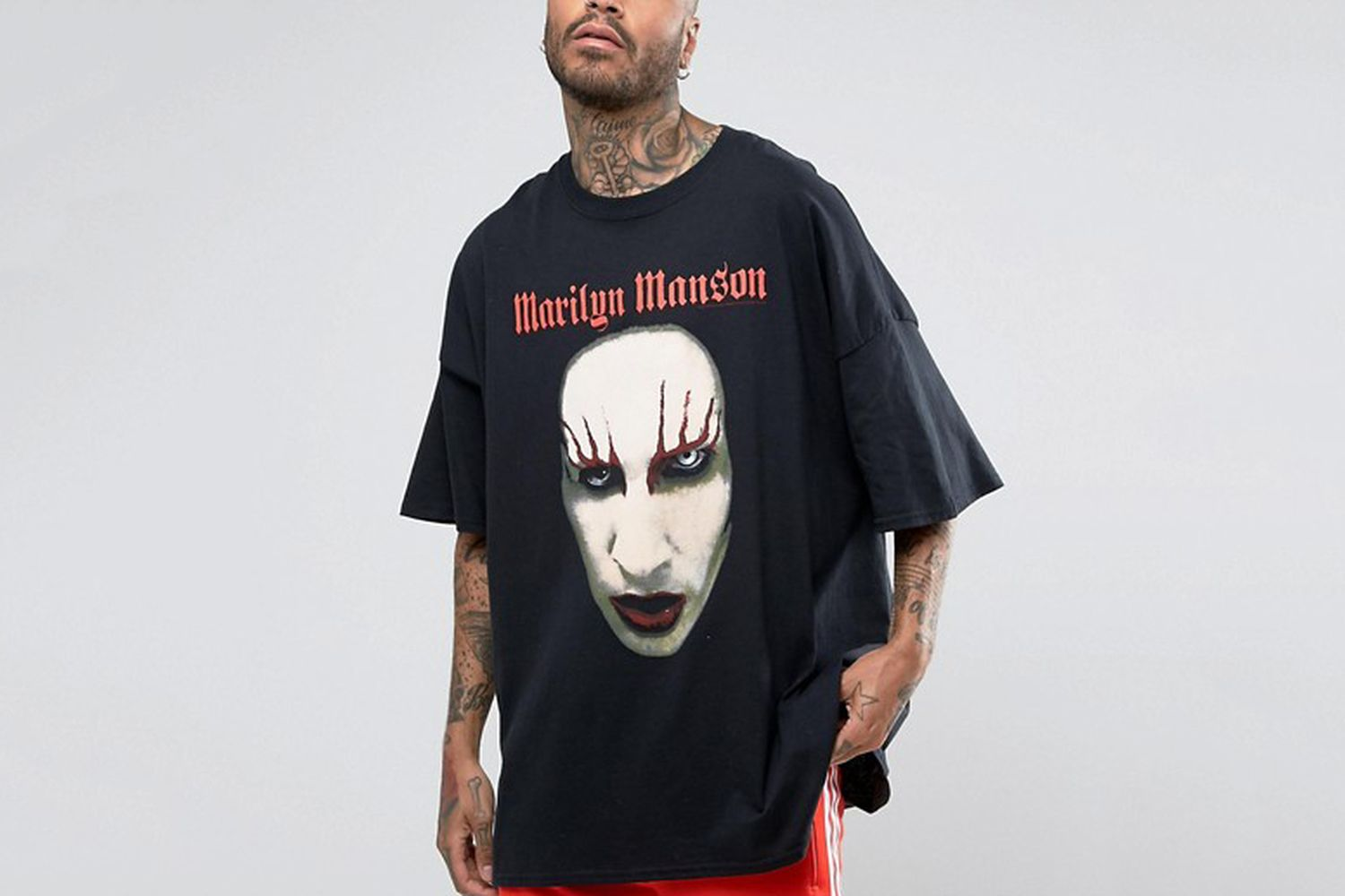 Oversized Marilyn Manson T-Shirt