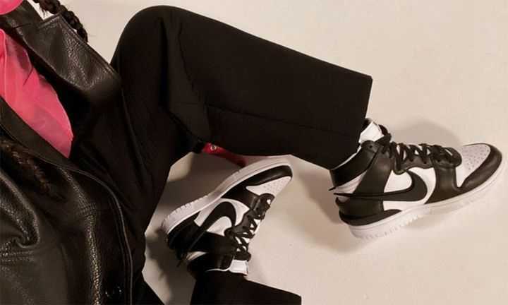 """AMBUSH x Nike Dunk High """"Black/White"""""""