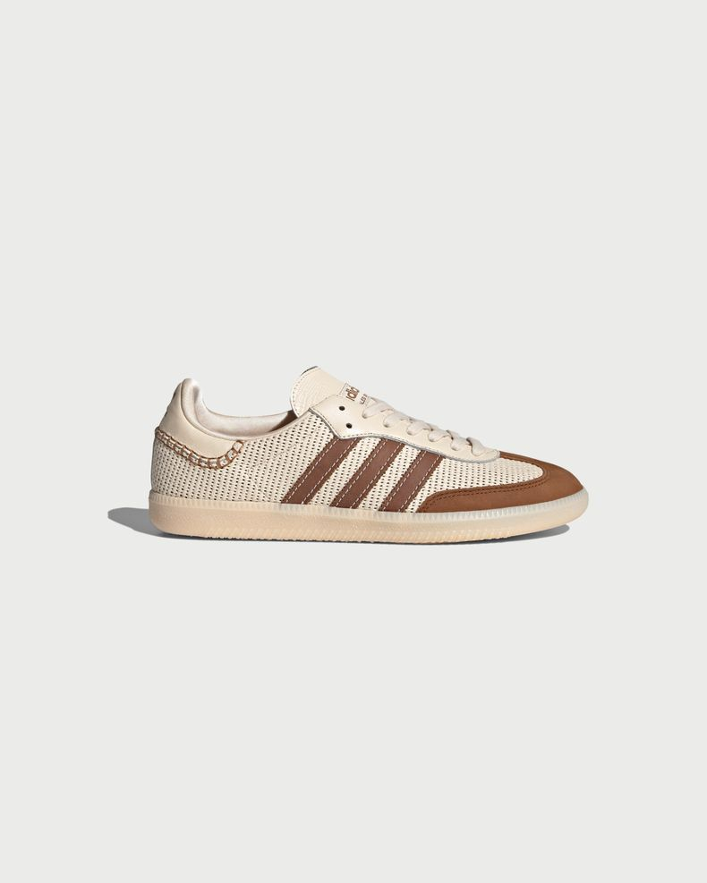 Adidas x Wales Bonner — Samba White/Brown
