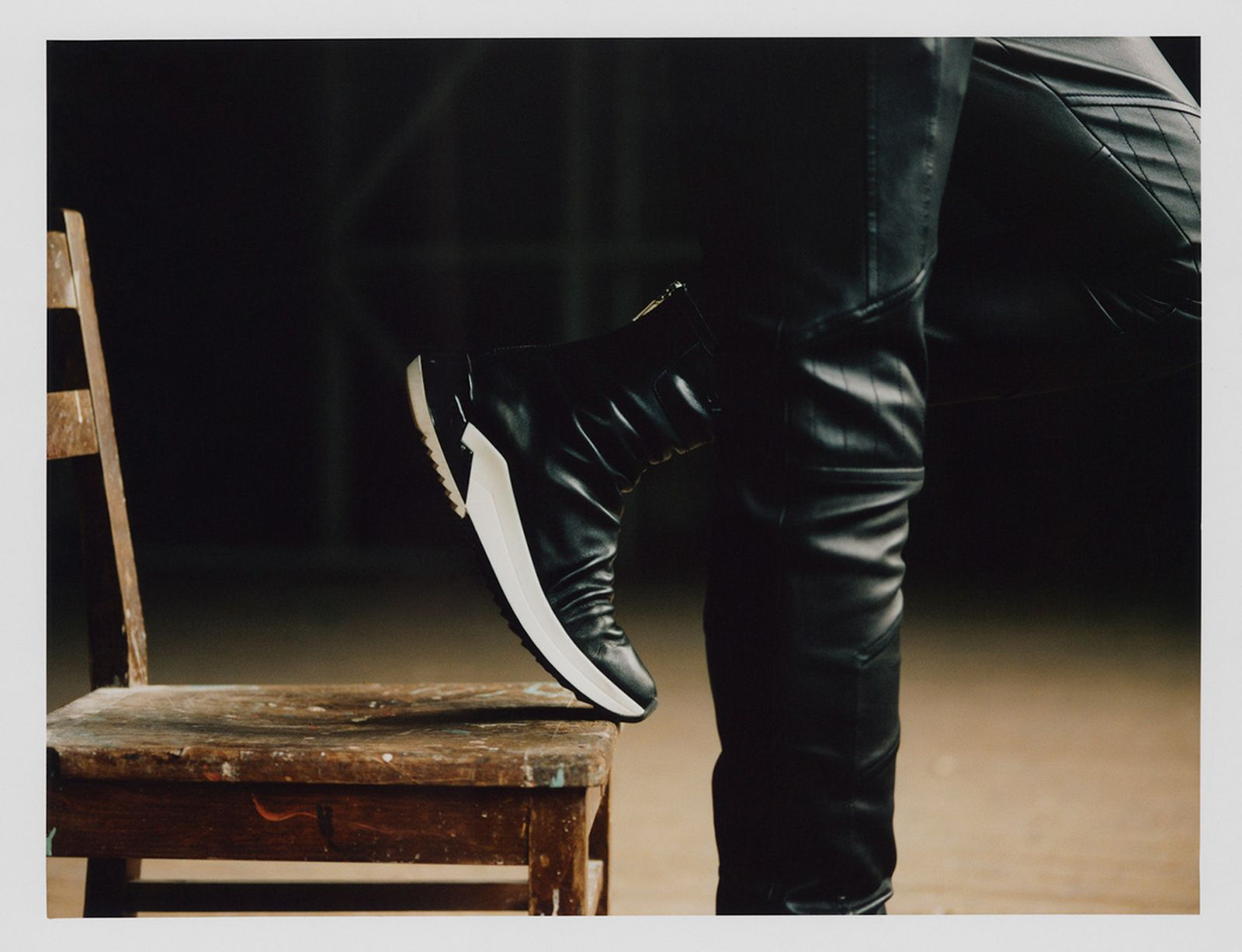 balmain new sneaker collection film vitali gelwich