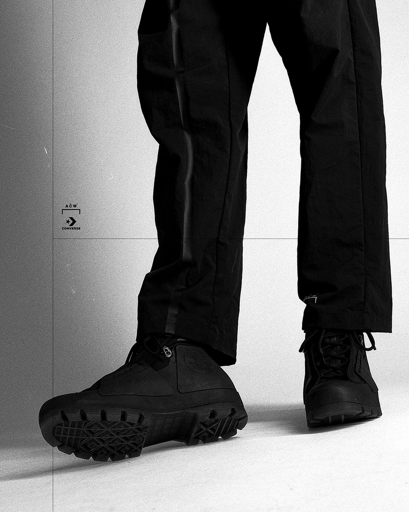 "A-COLD-WALL* x Converse Chuck Taylor Lugged ""Black"""