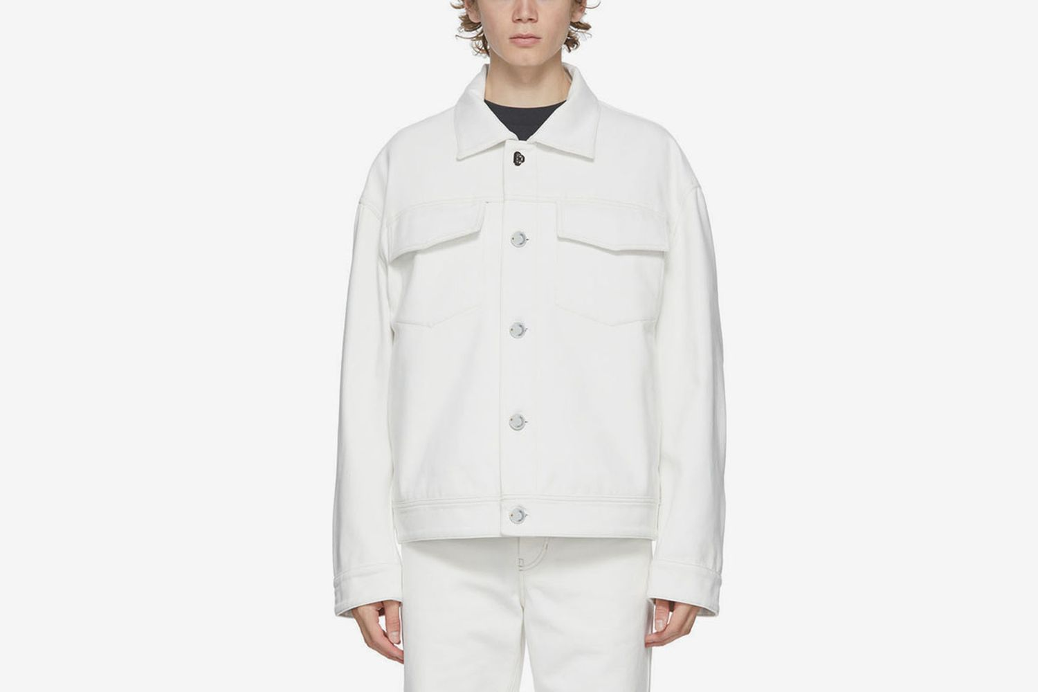 Off-White Canvas Jacket