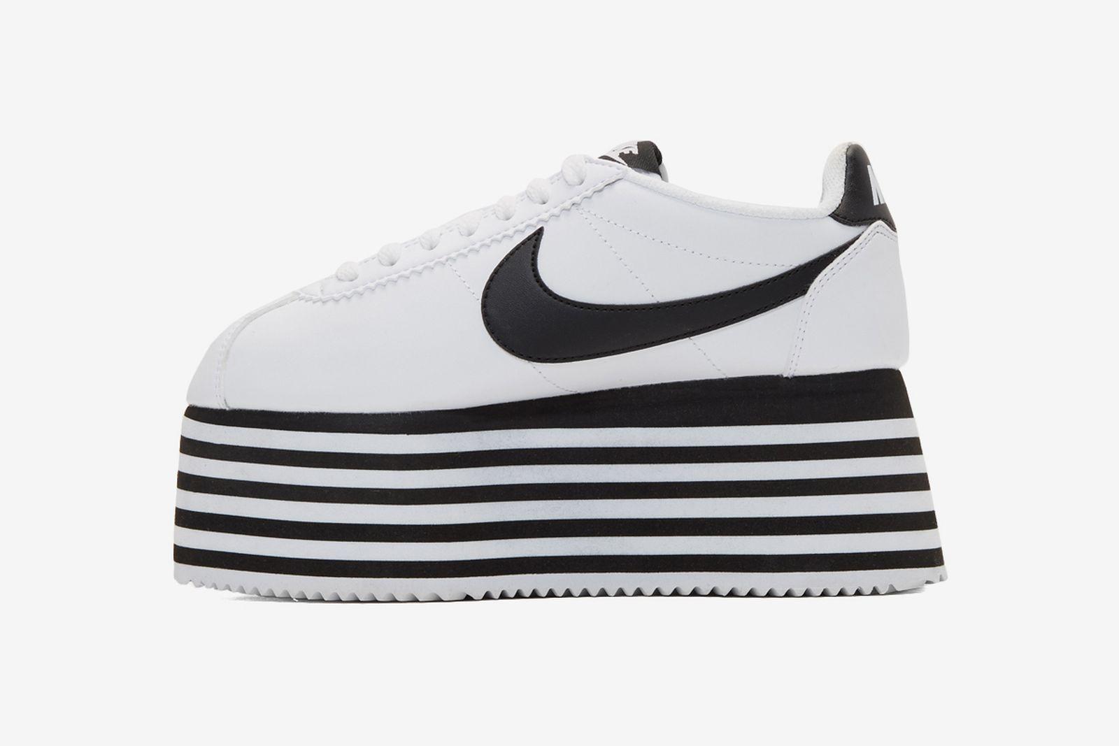 Oblicuo Ortodoxo boicotear  COMME des GARÇONS x Nike Cortez Platform: Release Date, Price & More Info