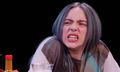 Billie Eilish Almost Quits During the 'Hot Ones' Challenge