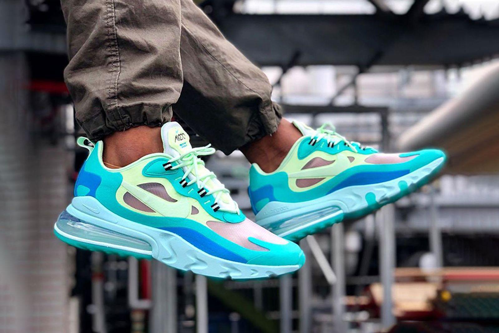 Mamut Frente al mar Tesauro  Nike Air Max 270 React & More Best Instagram Sneaker Photos