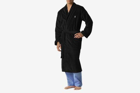 Kimono Cotton Velour Robe
