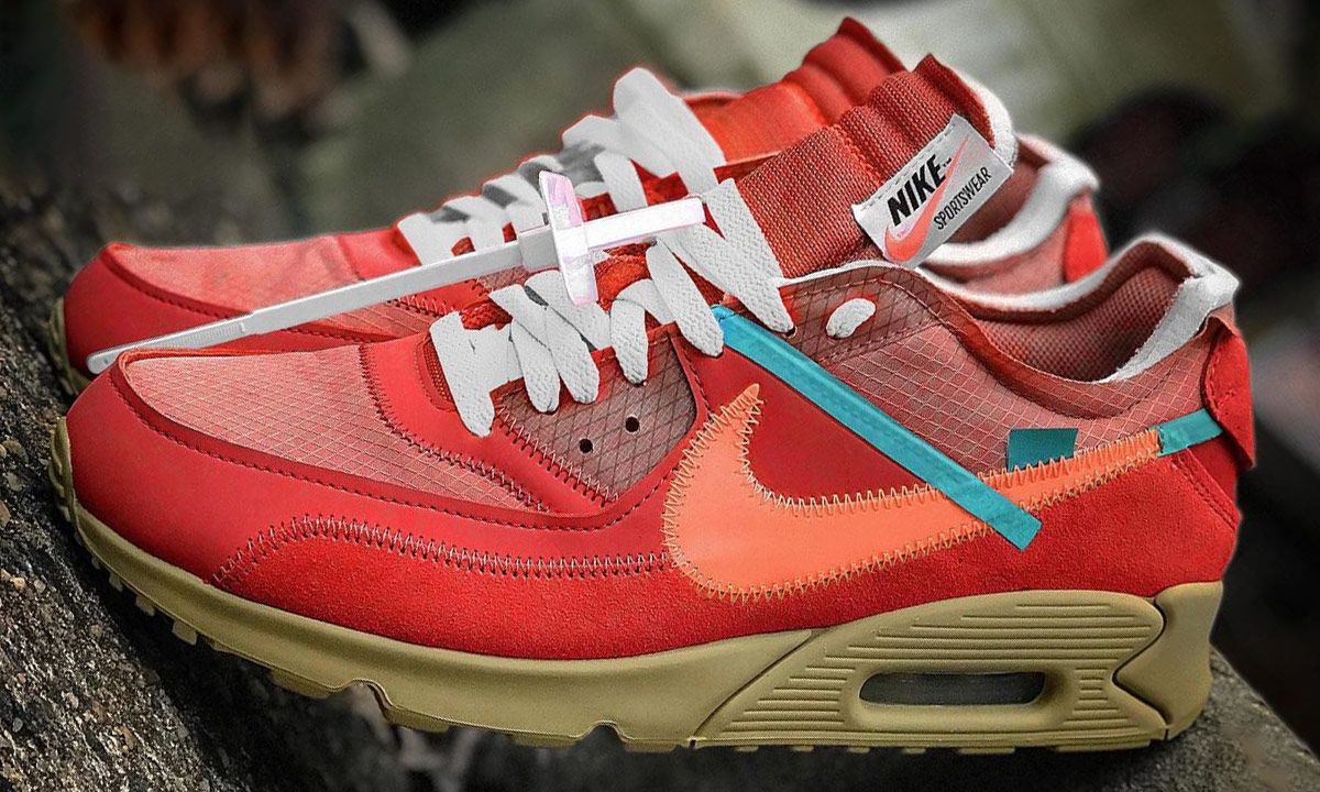 A Red Off-White x Nike Air Max 90 Could Be Dropping This Year