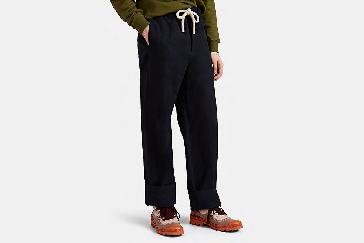 Canvas Drawstring Trouser