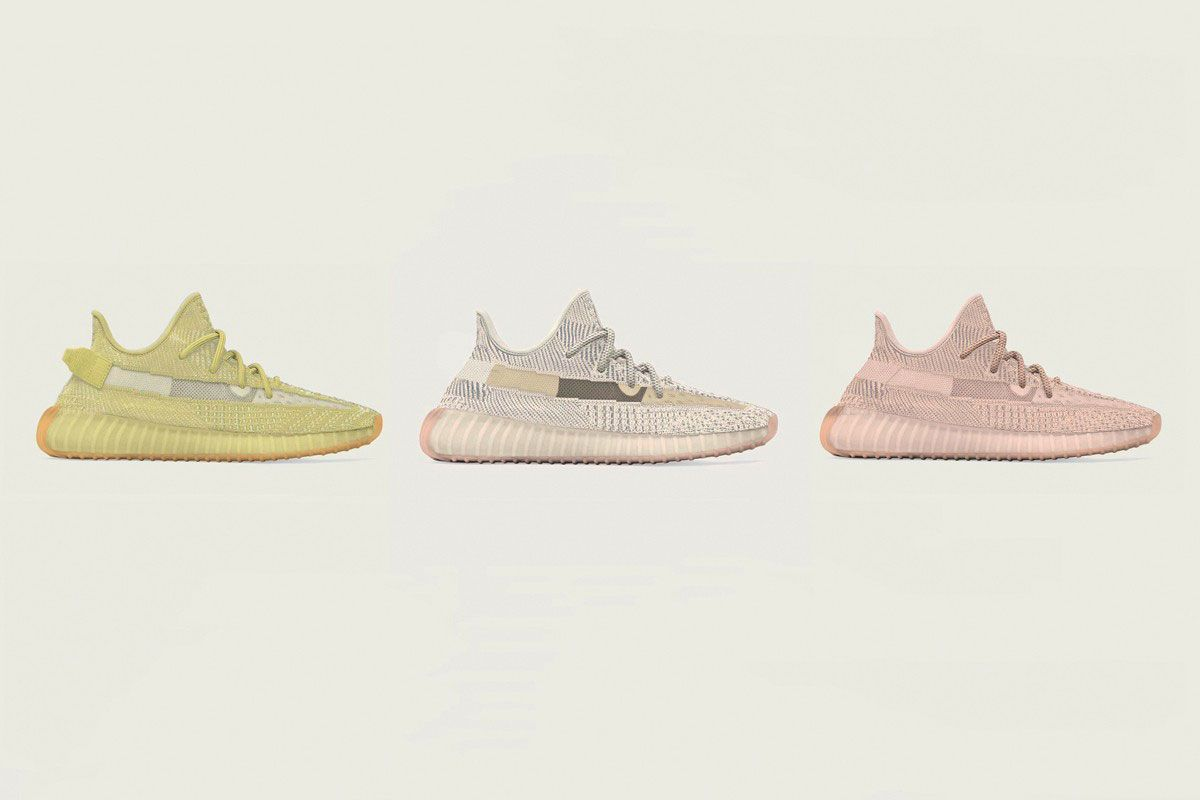 fbea17a2 Now, the collaborative line's next three drops have emerged for sale at  secondary sneaker marketplace StockX – YEEZY Boost ...