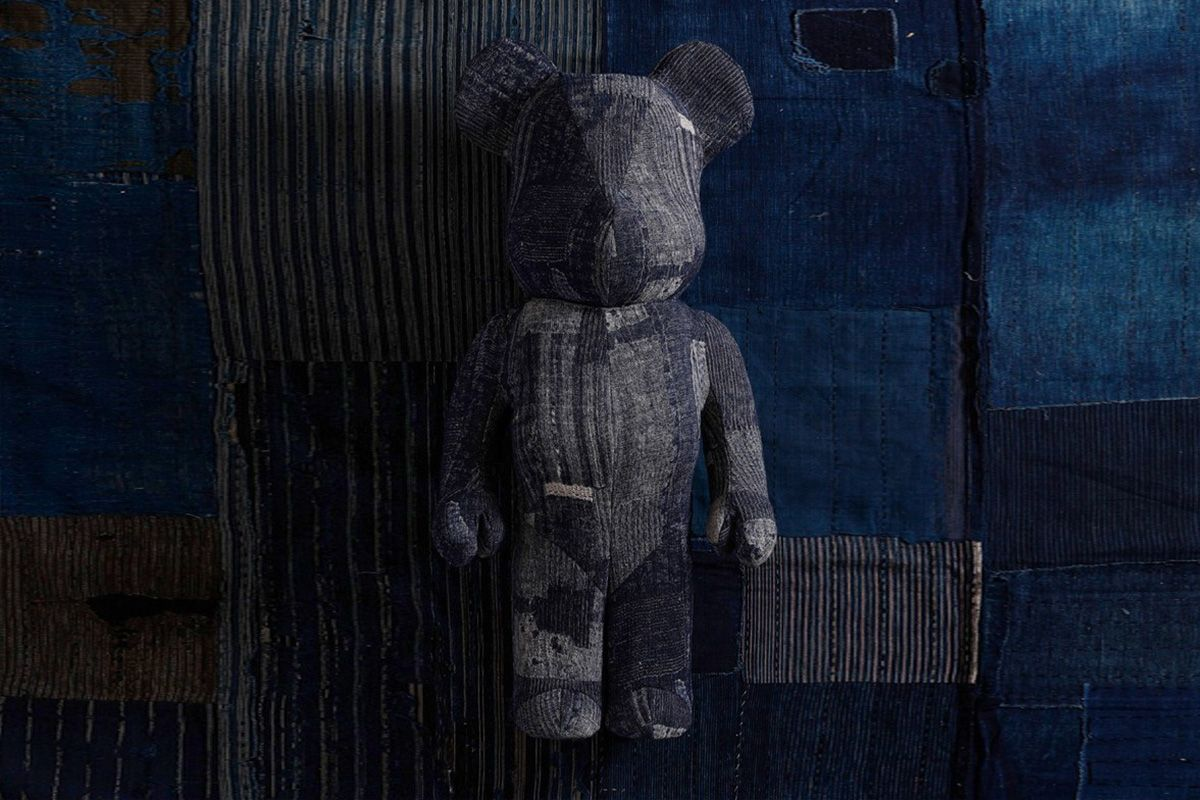 Denim Bearbrick