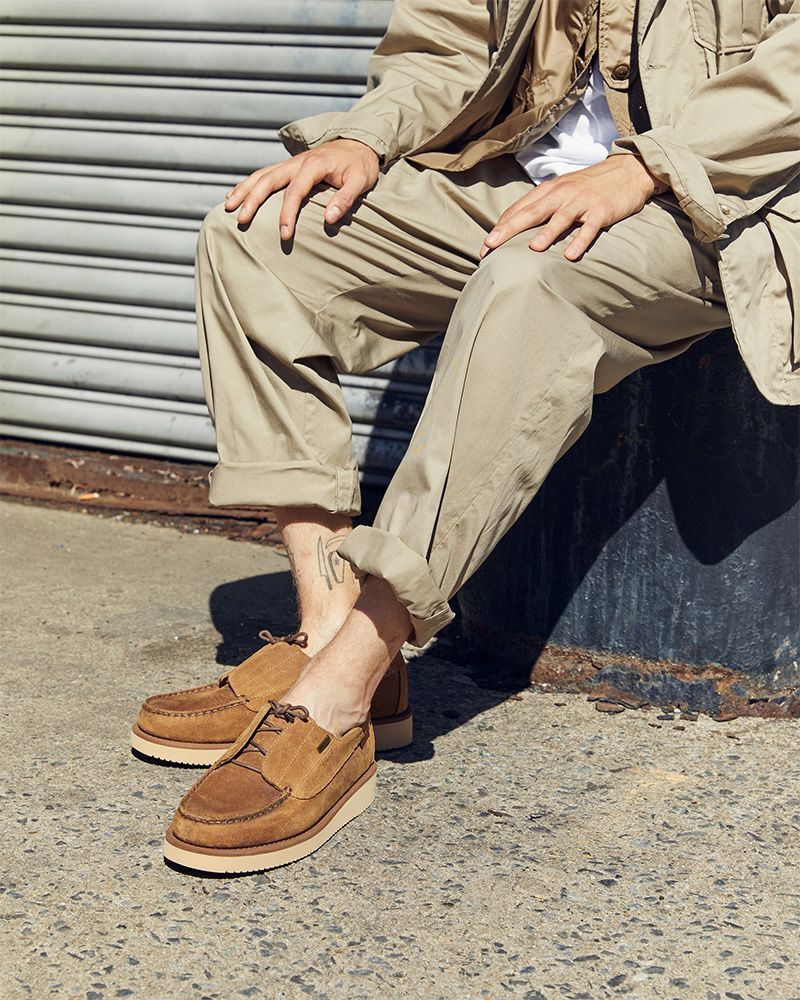 Engineered Garments x Sebago Gives the Boat Shoe the Update We've Been Waiting For 15