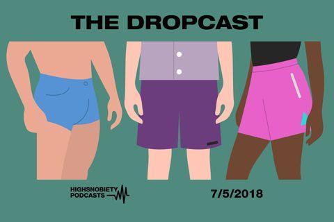 The Dropcast cover template main Supreme