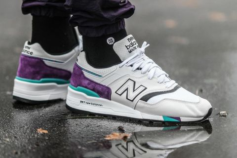 "new balance m997wea best instagram sneakers ASICS Gel Lyte III x David Z x Ronnie Fieg ""252 Pack"" Nike Air Max 1 ""Animal Pack"" OFF-WHITE c/o Virgil Abloh"